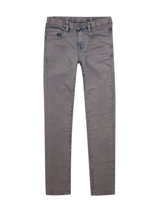 Regular Fit Jeans mit Stretch-Anteil- Seattle Slim Grau / Schwarz - 1