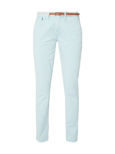 s.Oliver RED LABEL Relaxed Fit Chino mit Gürtel Lindgrün