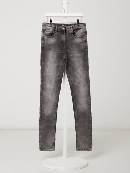s.Oliver RED LABEL Skinny Fit Jeans mit Stretch-Anteil Grau - 1