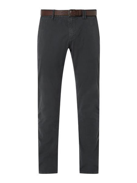 s.Oliver RED LABEL Slim Fit Chino mit Gürtel Grau - 1