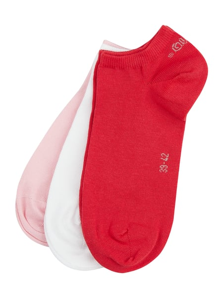 s.Oliver RED LABEL Sneakersocken im 3er-Pack Rot - 1