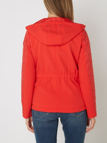 on feet shots of new images of wholesale online s.Oliver RED LABEL – Softshell-Jacke mit Kapuze – Rot
