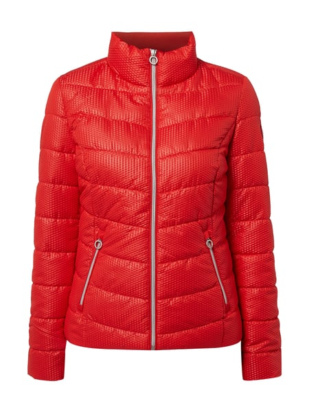 s.Oliver RED LABEL Steppjacke in Waffeloptik - wattiert Rot - 1