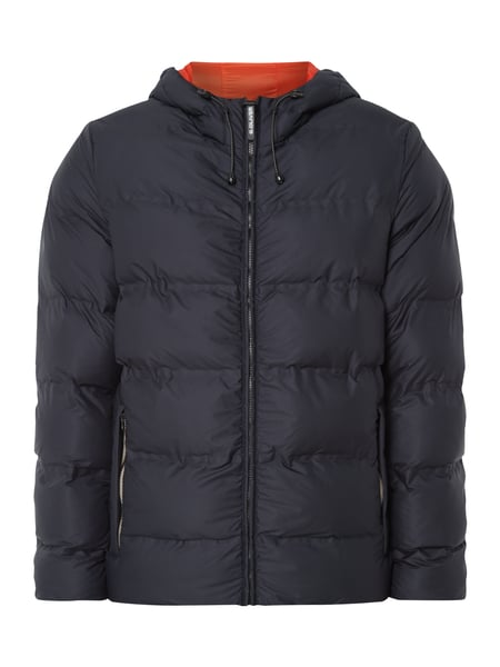 s.Oliver RED LABEL Steppjacke mit Kapuze - wattiert Marineblau