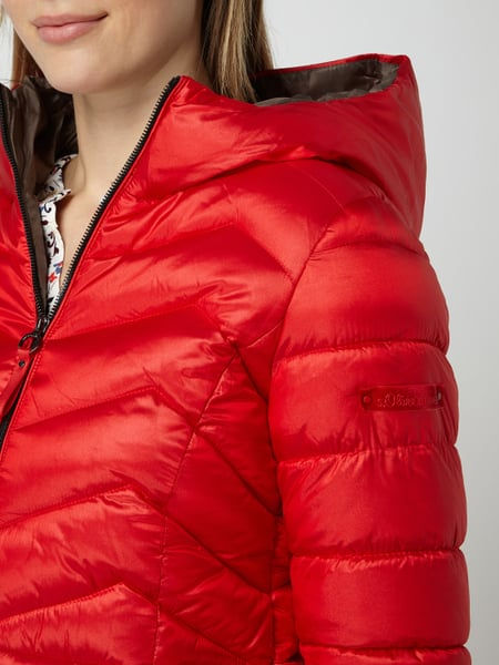 s.Oliver RED LABEL – Steppjacke mit Wattierung – Rot