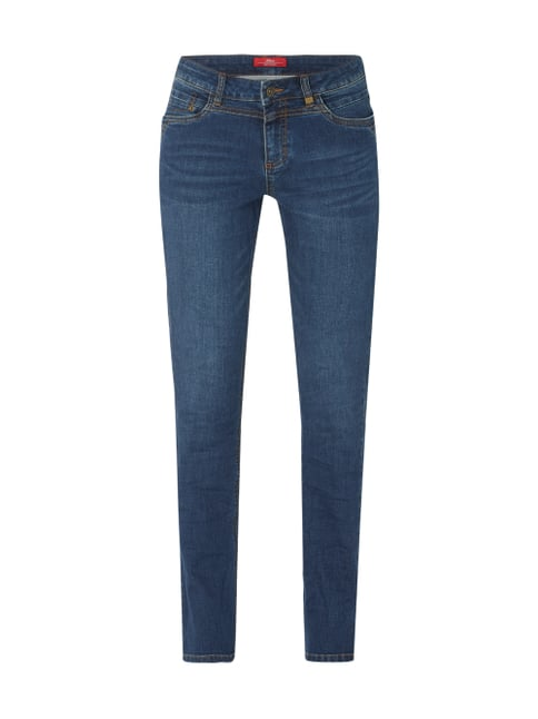s.Oliver RED LABEL Stone Washed Straight Fit Jeans Blau   Türkis - 1 ... d242943739