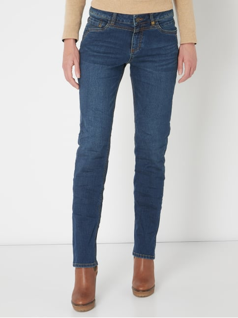 Oliver RED LABEL Stone Washed Straight Fit Jeans Jeans - 1 13cc02550a