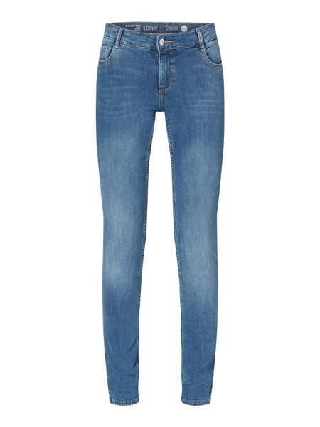 s.Oliver RED LABEL Super Skinny Fit Jeans mit Stretch-Anteil Blau - 1