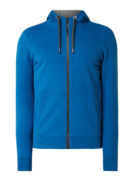 s.Oliver RED LABEL Sweatjacke mit Kapuze Blau - 1