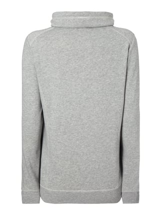 s.Oliver RED LABEL Sweatshirt mit Tube Collar Silber - 1