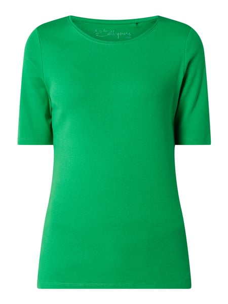 s.Oliver RED LABEL T-Shirt mit 1/2-Arm Grün - 1