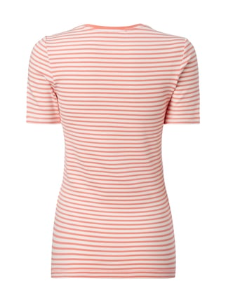 s.Oliver RED LABEL T-Shirt mit Allover-Muster Rosa - 1