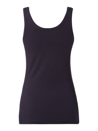 s.Oliver RED LABEL Tanktop mit Stretch-Anteil Dunkelblau - 1
