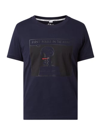 s.Oliver RED LABEL The Anniversary Collection T-Shirt Blau - 1