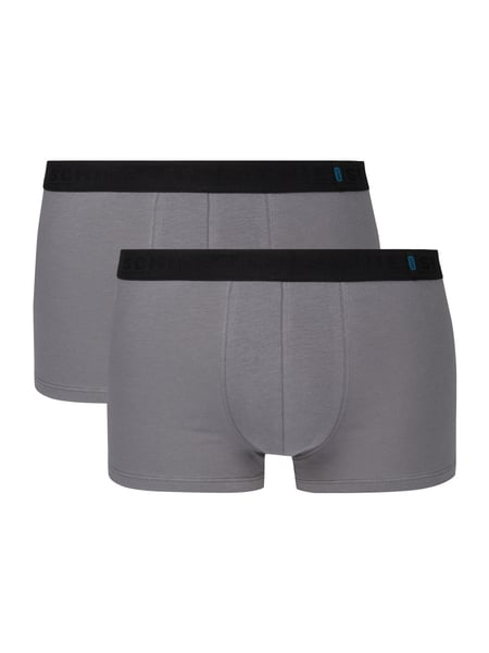 Schiesser Trunks im 2er-Pack Grau - 1