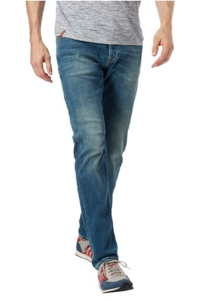Scotch & Soda Blauw Stone Washed Regular Slim Fit Jeans Jeans - 1