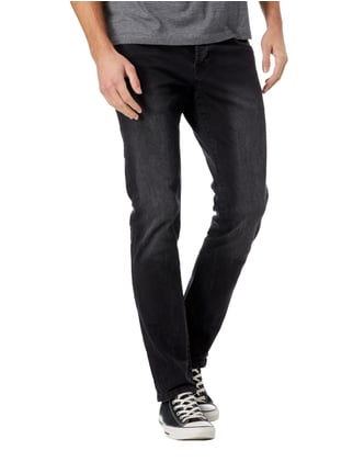 Scotch & Soda Blauw Stone Washed Regular Slim Fit Jeans Schwarz - 1