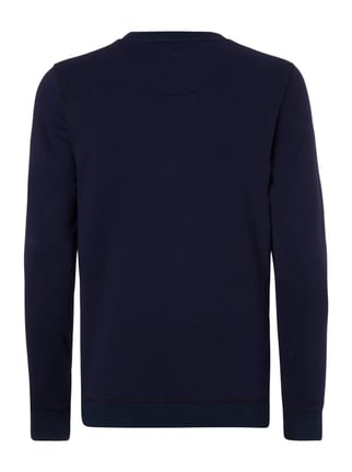 Scotch & Soda Blauw Sweatshirt mit Stickerei Dunkelblau - 1