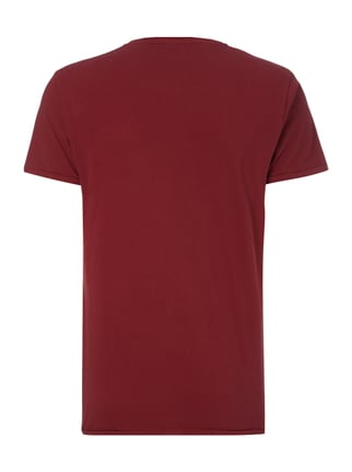 Scotch & Soda Blauw T-Shirt aus Baumwolle Bordeaux Rot - 1