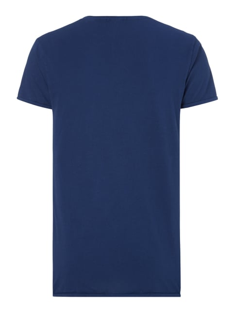 Scotch & Soda Blauw T-Shirt aus Baumwolle Marineblau - 1