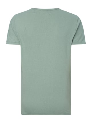 Scotch & Soda Blauw T-Shirt mit Logo-Print Mint - 1