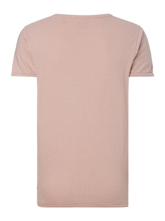 Scotch & Soda Blauw T-Shirt mit Logo-Print Rosé - 1