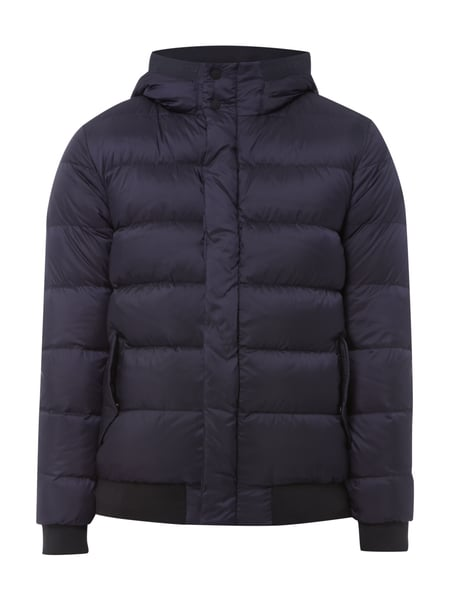Scotch & Soda Daunenjacke mit Kapuze Marineblau