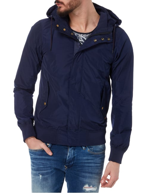 Scotch & Soda Jacke mit Kapuze Blau - 1