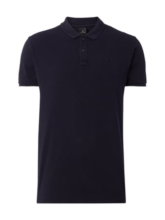 Scotch & Soda Poloshirt mit Logo-Stickerei Blau / Türkis - 1