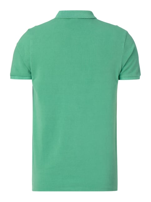 Scotch & Soda Poloshirt mit Logo-Stickerei Mint - 1