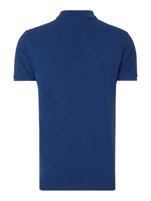 Scotch & Soda Poloshirt mit Logo-Stickerei Royalblau - 1