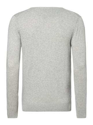 Scotch & Soda Pullover in Melangeoptik Hellgrau - 1