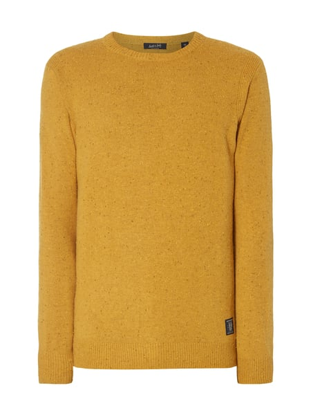 088c1fc6a083 SCOTCH-SODA Pullover mit dekorativem Pilling-Effekt in Gelb online ...