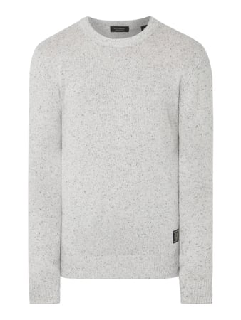 Scotch & Soda Pullover mit Pilling-Effekt Weiß - 1