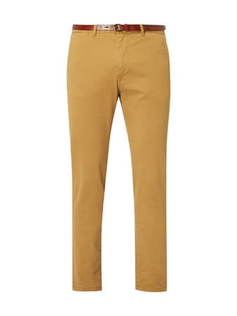 Scotch & Soda Regular Slim Fit Chino mit Gürtel Braun - 1