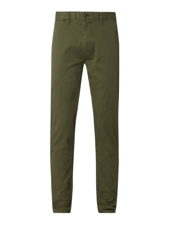 Scotch & Soda Regular Slim Fit Chino mit Stretch-Anteil Modell 'Stuart' Grün - 1