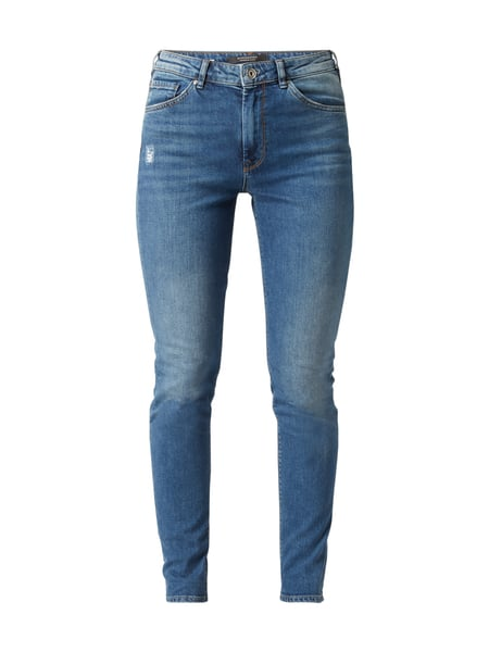 Maison Scotch Skinny Fit Jeans im Used Look Jeans