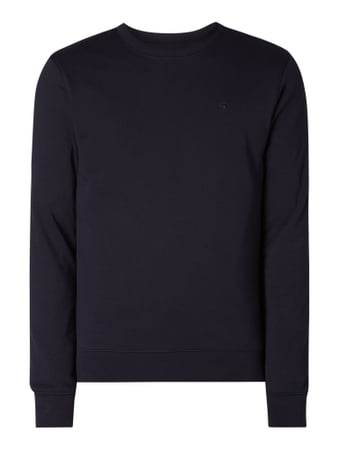 Scotch & Soda Sweatshirt mit Logo-Stickerei Blau - 1