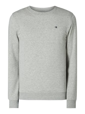 Scotch & Soda Sweatshirt mit Logo-Stickerei Grau - 1