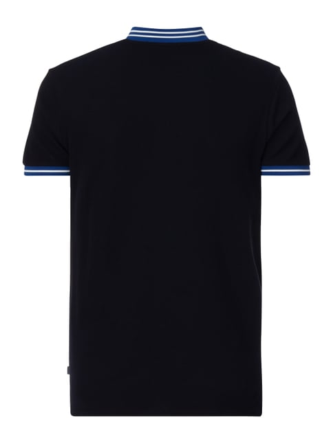 Scotch & Soda T-Shirt im Polo-Stil Marineblau - 1