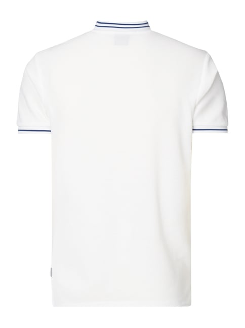 Scotch & Soda T-Shirt im Polo-Stil Offwhite - 1