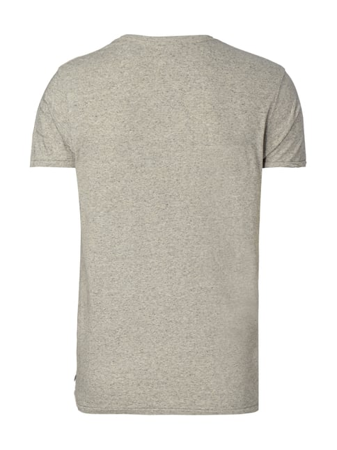 Scotch & Soda T-Shirt in Melangeoptik Hellgrau - 1