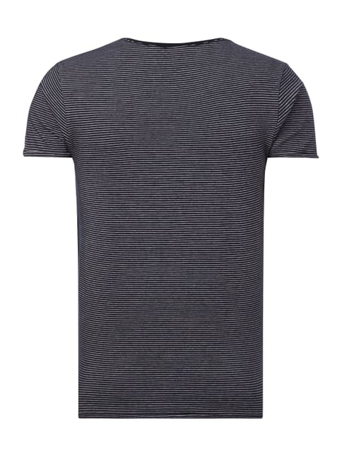 Scotch & Soda T-Shirt mit Allover-Muster Anthrazit - 1