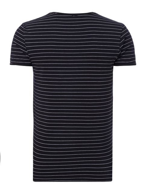 Scotch & Soda T-Shirt mit Allover-Muster Schwarz - 1