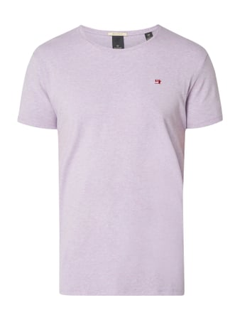 Scotch & Soda T-Shirt mit Stretch-Anteil Lila - 1