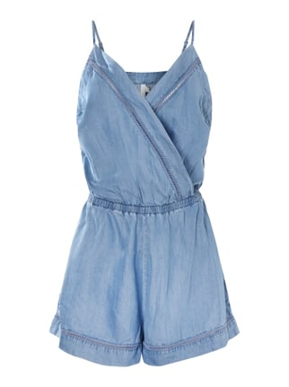 Caribean Kool Playsuit in Denimoptik Blau / Türkis - 1