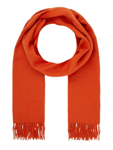 best loved 07257 0731a Selected Femme – Schal aus Wolle – Orange