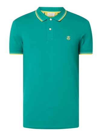 Selected Homme Poloshirt aus Organic Cotton Modell 'New Season' Blau - 1