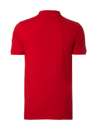 Selected Homme Poloshirt mit Stickerei Rot - 1