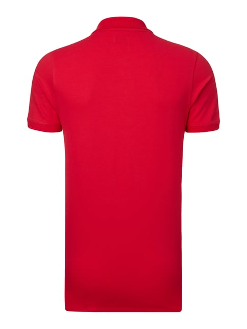 Selected Homme Poloshirt mit Stretch-Anteil Rot - 1